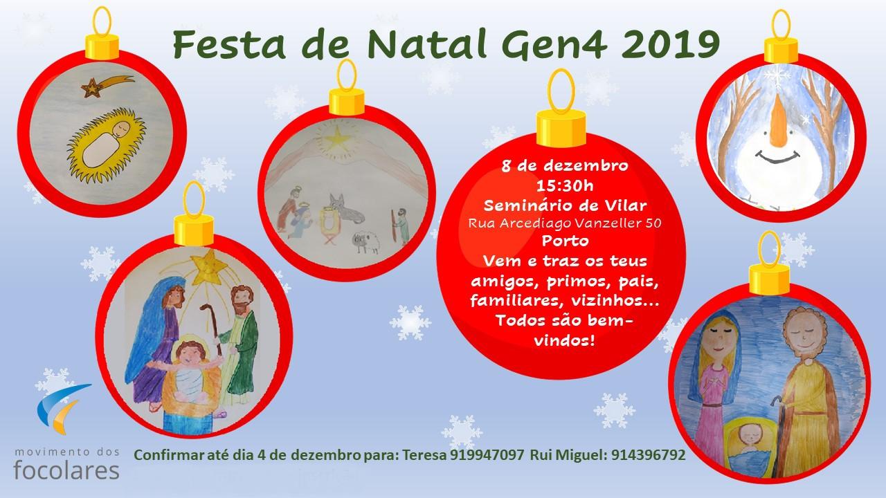 Festa De Natal Gen4 2019 Movimento Dos Focolares Portugal